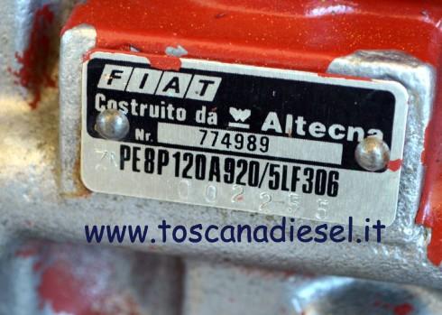 pompa iniezione Fiat altecna PE8P120A920 5LF306 2
