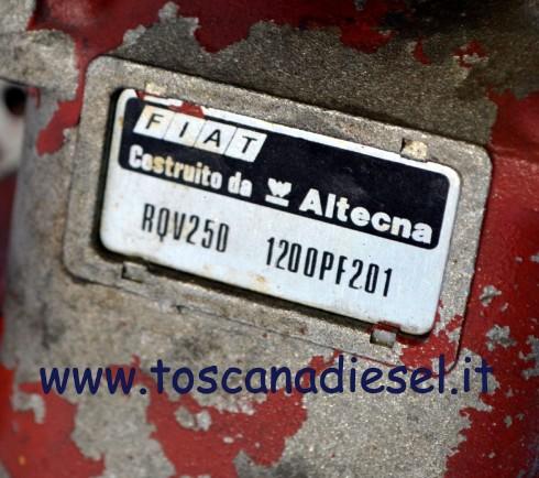 pompa iniezione Fiat altecna PE8P120A920 5LF306 3
