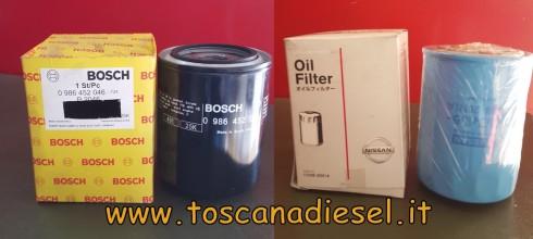 filtro olio bosch 0986452046 f026408739 nissan 1520820n1a